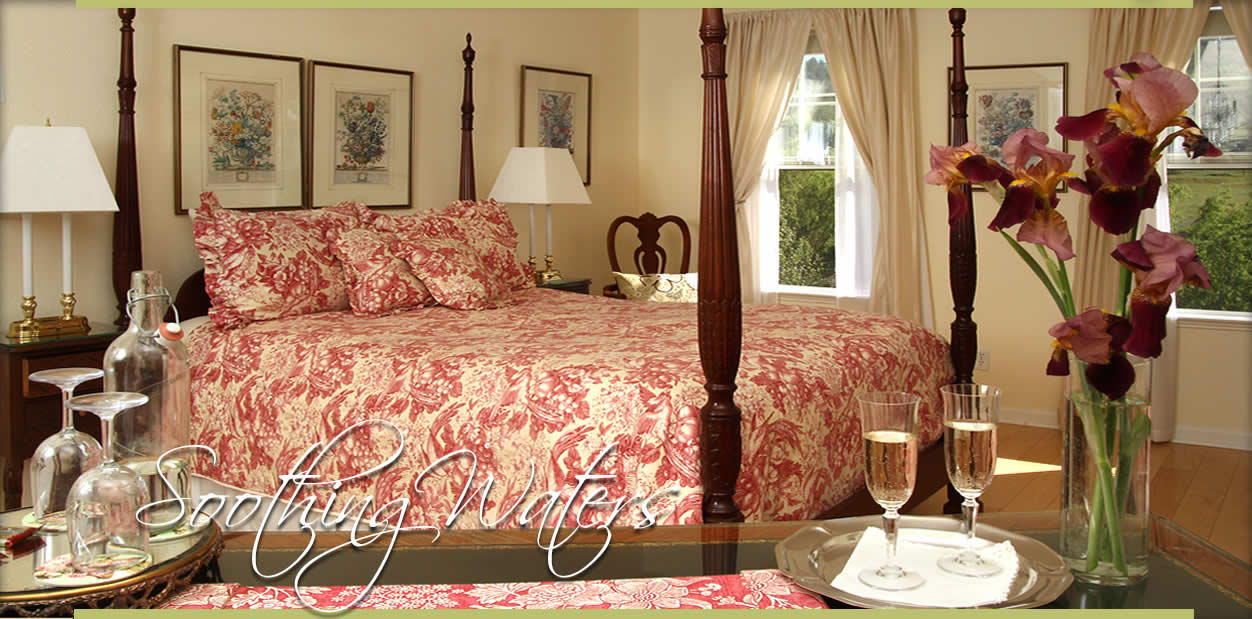 Enchanted April Inn in Pilot Hill California | Soothing Waters